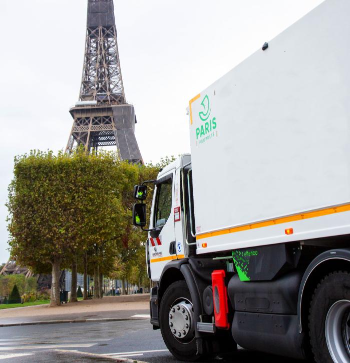 effenco photo camion paris